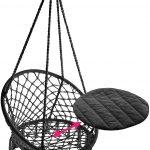 TecTake 800689 - Hamac Chaise Suspendu Design 1 Personne, Intérieur extérieur