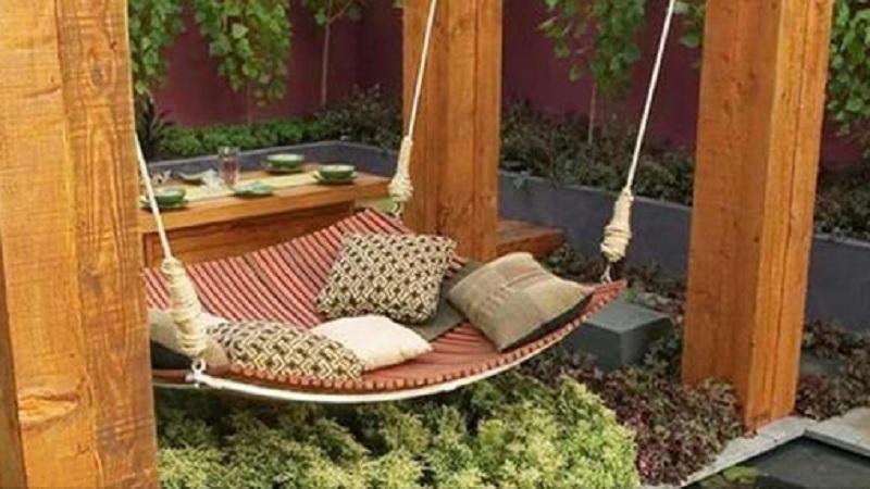 Comment fabriquer son hamac de jardin ?